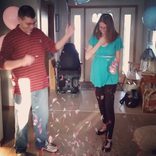 Lisa's Gender reveal