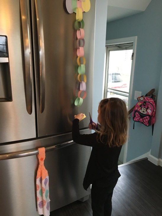 Ada's Easter Chain Countdown